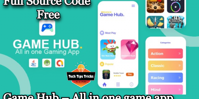 Game Hub – All in one game app